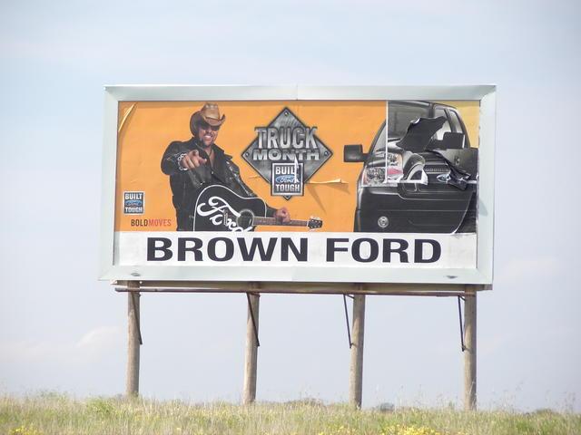 Buckland Media Group - billboards for Burns Flat, OK